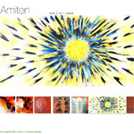 Amiten's website with slideshow