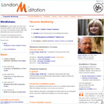 Home page for London-Meditation