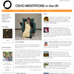 Osho in UK first version